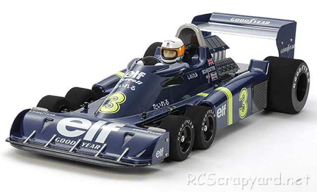 Tamiya Tyrrell P34 1976 Japan Grand Prix Special - F103RS # 47359