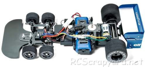 Tamiya Tyrrell P34 1976 Japan GP Special Chassis