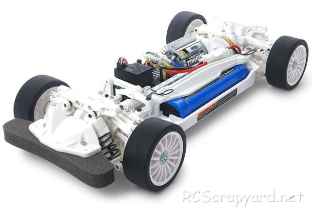 Tamiya TT-02 White Special Chassis - # 47364