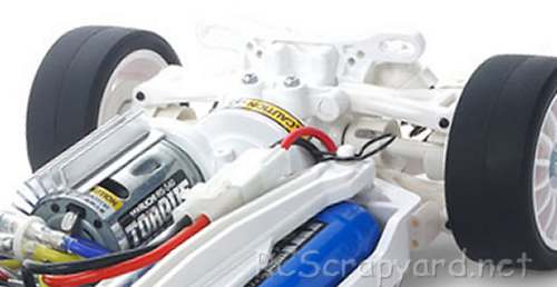 Tamiya TT-02 White Special Chassis