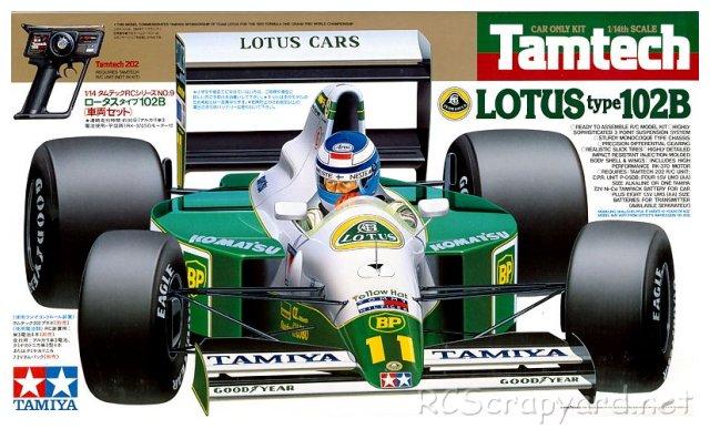 Tamiya Lotus Type 102B - # 48009