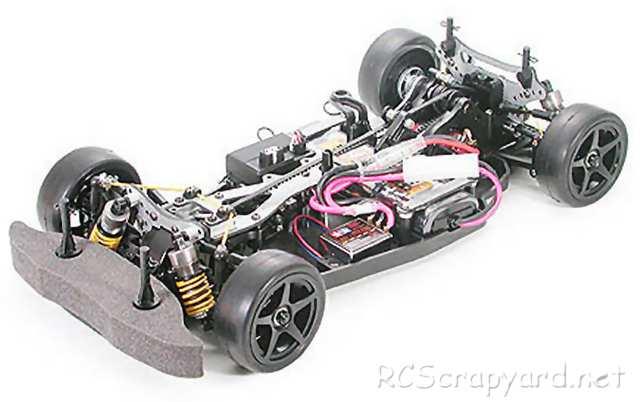 Tamiya TA04-R Tuned Chassis Kit - 49297