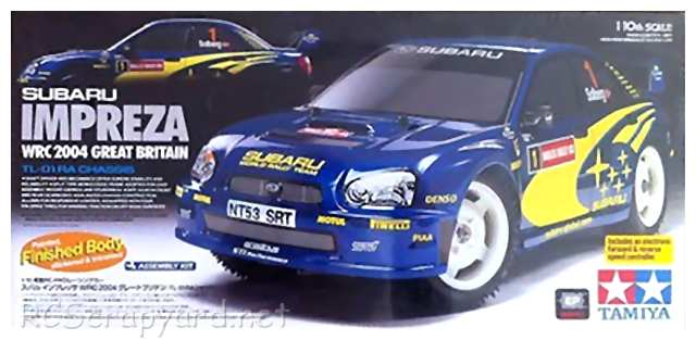 Tamiya Subaru Impreza WRC 2004, Rally of Great Britain - TL-01 Ra # 49352