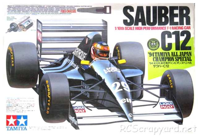 Tamiya Sauber C12 94 Tamiya all Japan Champion Special - F103 # 49592