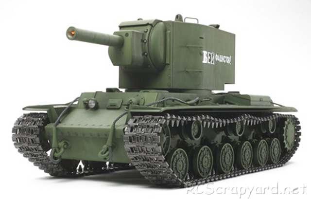 Tamiya Russian Heavy Tank KV-2 Gigant - # 56030