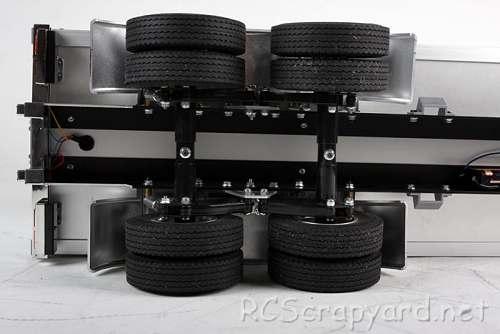 Tamiya Semi Box Trailer Chassis