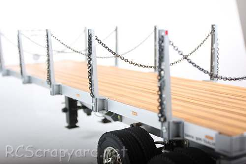 Tamiya Semi Flatbed Trailer