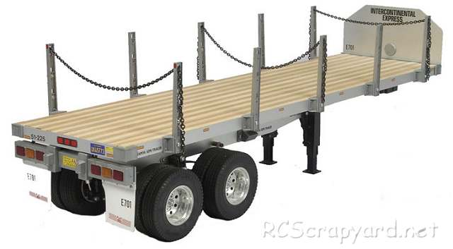 Tamiya Semi Flatbed Trailer - # 56306