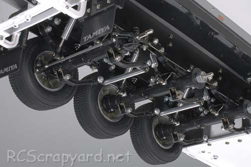 Tamiya Semi Reefer Trailer Chassis