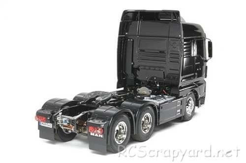 Tamiya MAN TGX 26.540 6x4 XLX Chassis