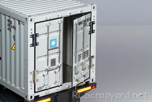 Tamiya Semi Container Trailer Maersk
