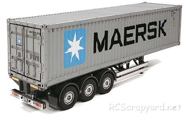 Tamiya Semi Container Trailer Maersk - # 56326
