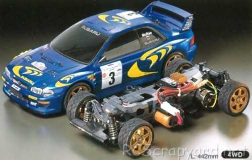Tamiya Subaru Impreza WRC Complete Kit Chassis