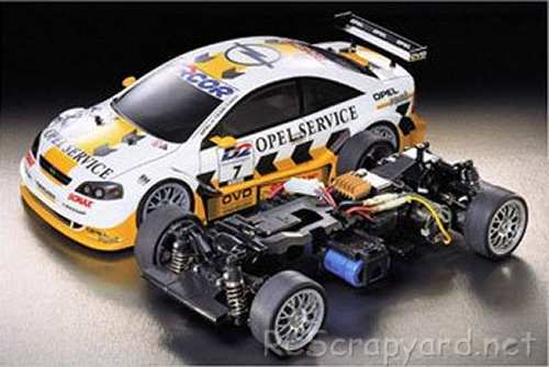 Tamiya Opel V8 Coupe Complete Kit Chassis