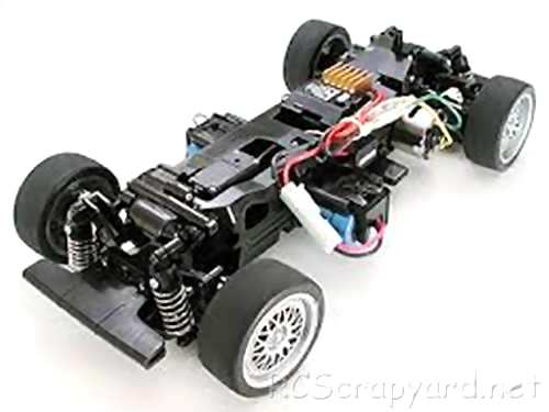 Tamiya Porsche 911 GT3 Cup VIP Complete Kit Chassis
