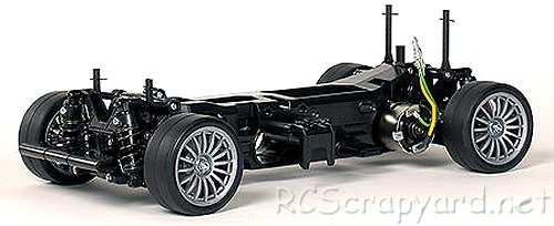 Tamiya Beams Integra Complete Kit Chassis