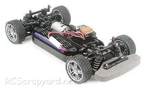 Tamiya Enzo Ferrari Complete Kit Chassis