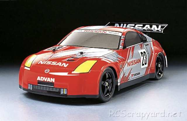 Tamiya Nissan 350Z Race-Car Complete Kit - TT-01 # 57034