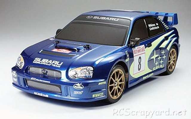 Tamiya Subaru Impreza WRC 2003 Complete Kit - TT-01 # 57035