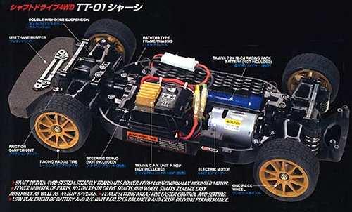 Tamiya Subaru Impreza WRC 2003 Complete Kit Chassis