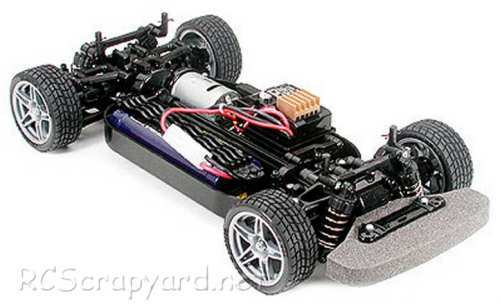 Tamiya Ford Focus RS WRC 03 Complete Kit Chassis