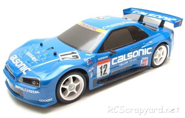 Tamiya Calsonic Skyline GT-R 2003 Complete Kit - TT-01 # 57038