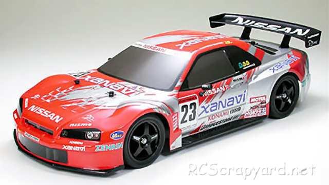 Tamiya Xanavi Nismo GT-R (R34) Complete Kit - TT-01 # 57040