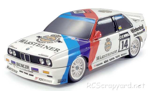 Tamiya Schnitzer BMW M3 Sport Evo Complete Kit - TT-01 # 57041