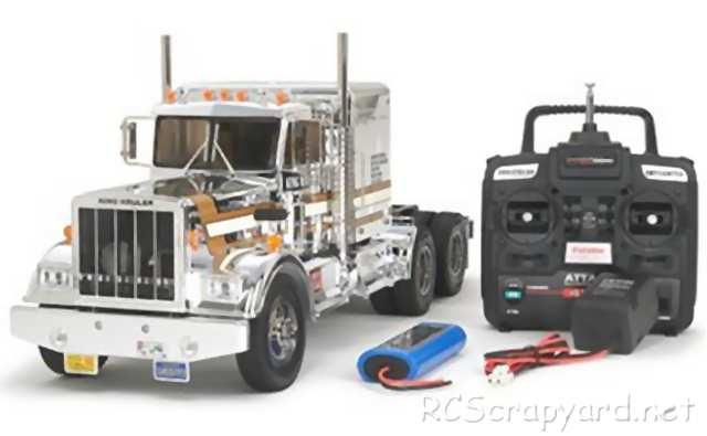 3 Pair Used Tamiya Semi Tractor Truck Oil Shocks Suspension 1//14 RC King Hauler