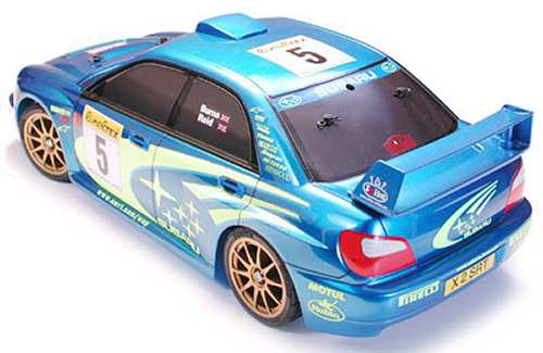 Tamiya XB Subaru Impreza WRC 2001