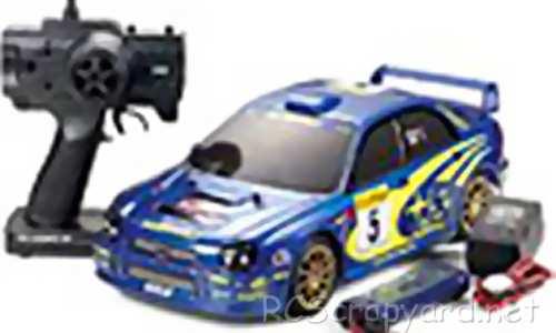 Tamiya XB Subaru Impreza WRC 2001 - TL-01 # 57713