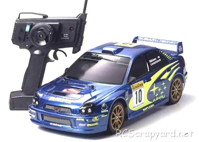 Tamiya XB Subaru Impreza WRC 2002 - TT-01 # 57717