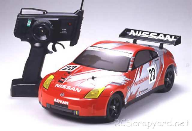 Tamiya XB Nissan 350Z Race Car - TT-01 # 57720