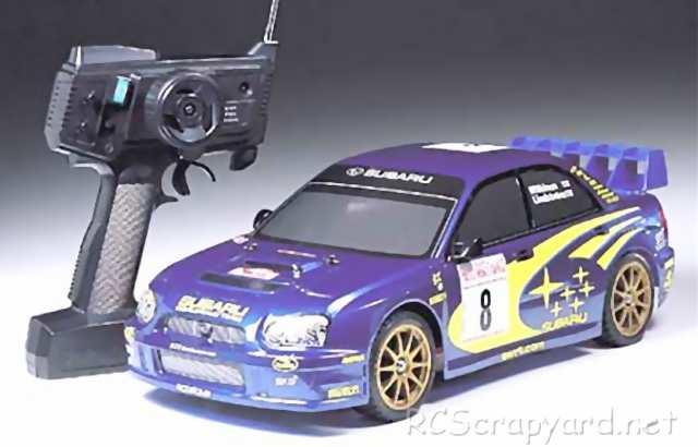 Tamiya XB Subaru Impreza WRC 2003 - TT-01 # 57722