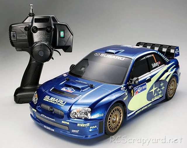 Tamiya XB Subaru Impreza WRC 2004 - TT-01 # 57733