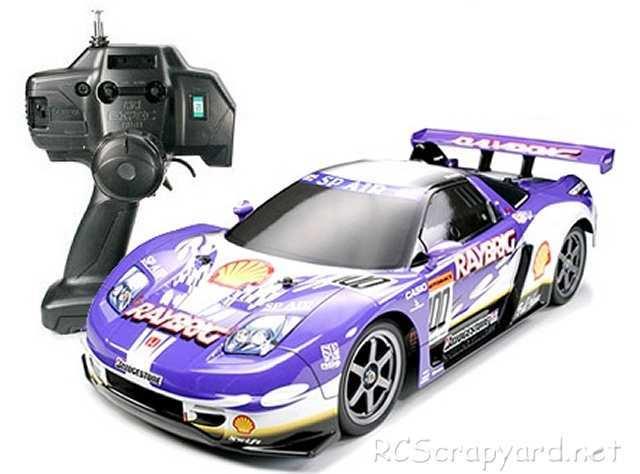 Tamiya XB Raybrig NSX 2004 - TT-01 # 57735