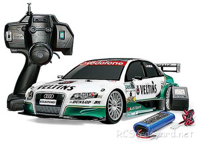 Tamiya XB Audi A4 DTM 2006 - TT-01 # 57760