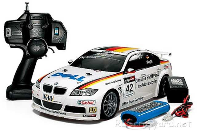 Tamiya XB BMW 320si WTCC 2006 Team Germany - TT-01 # 57764