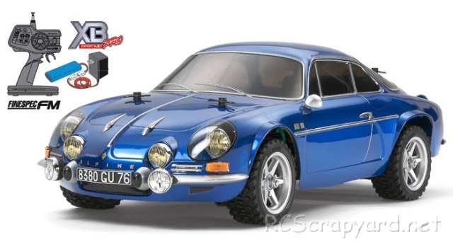Tamiya XB Alpine A110 - M-05Ra # 57807