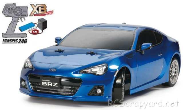 Tamiya XB Subaru BRZ - Drift Spec - TT-01ED # 57856