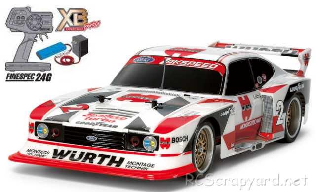 Tamiya XB Ford Zakspeed Turbo Capri Gr5 Wurth - TT-02 # 57863