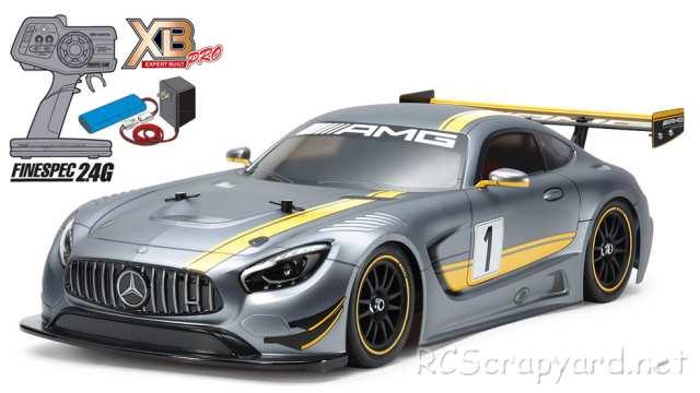Tamiya XB Mercedes-Benz AMG GT3 - TT-02 # 57900