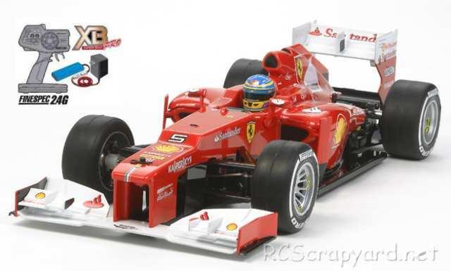 Tamiya XB Ferrari F2012 - F104 #84356