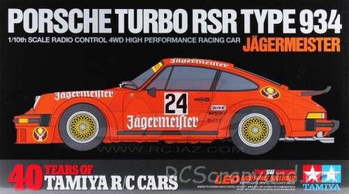 Tamiya Porsche 934 Jagermeister