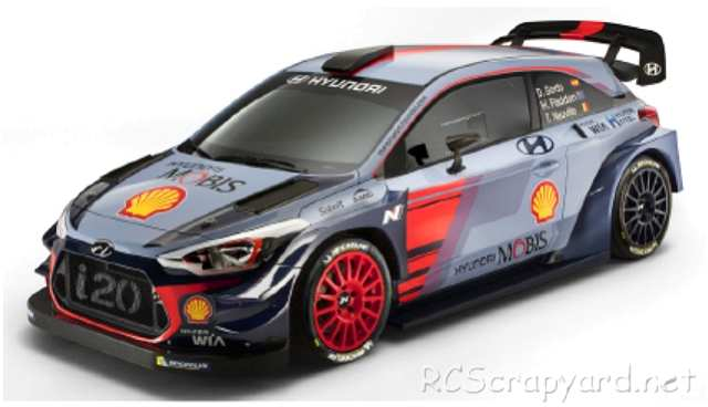 Tamiya XB Hyundai i20 Coupe WRC - TT-02 #93043