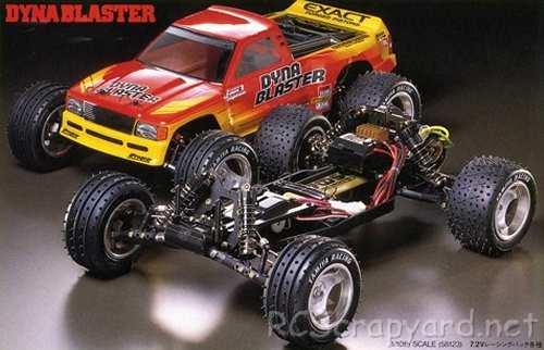 Tamiya Dyna Blaster Chassis