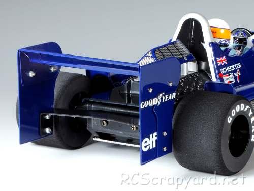 Tamiya Tyrrell P34 1976 Japan GP  Chassis