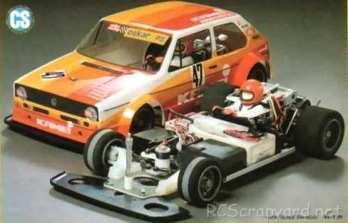 Tamiya VW Golf Racing Group 2 (CS) #58025 - Chassis