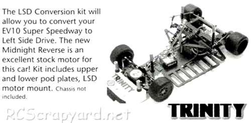 Trinity Evolution 10SS LSD Chassis