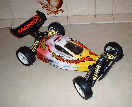Schumacher Cat 2000 EC Off Road Buggy